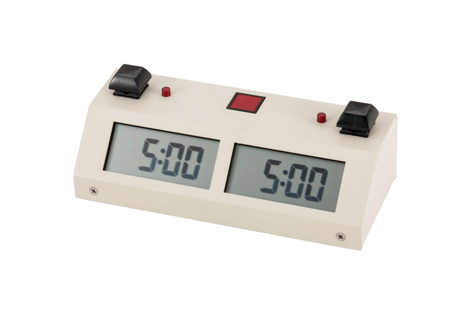 Chronos GX Digital Game Chess Clock - BUTTON - White