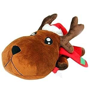 Plush Toy and Gift, Boyiya Christmas Car Decor Doll Purify Air Bamboo Charcoal Bag Adsorb Odor Deodorant