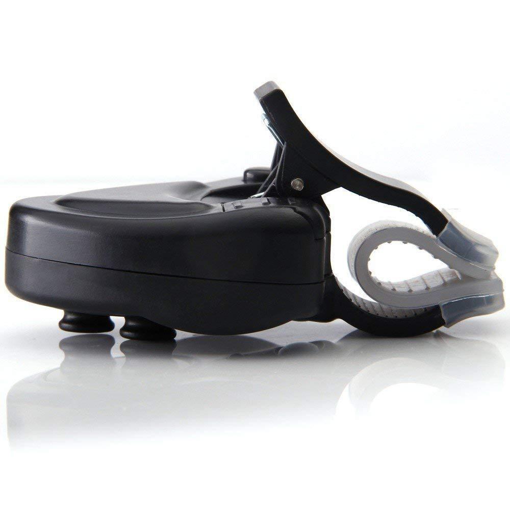 2 Unidades Alarma electr/ónica de picada de Pesca indicador de Alarma de picada con luz LED y Alerta de Sonido
