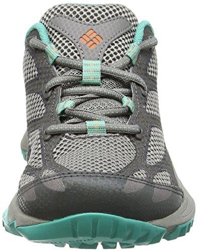 Columbia Conspiracy IV, Zapatos de Low Rise Senderismo, Mujer Gris (Light Grey  /  Jupiter 060)
