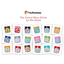 18 NEW KaWaii Baby Printed Snap One Size Pocket Cloth Diapers-Shells Only