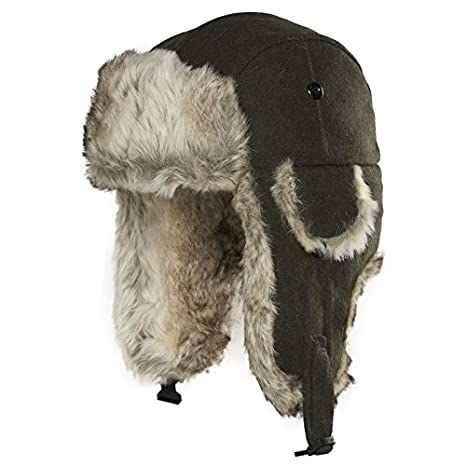 f7b09ebe823f5 Amazon.com  Chaos Men s Dylon Wool Blend Trapper Hat  Clothing