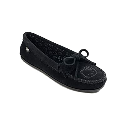 ae16e72c7 Amazon.com | Minnetonka Womens Hello Kitty Kilty Moccasin Slip-On ...
