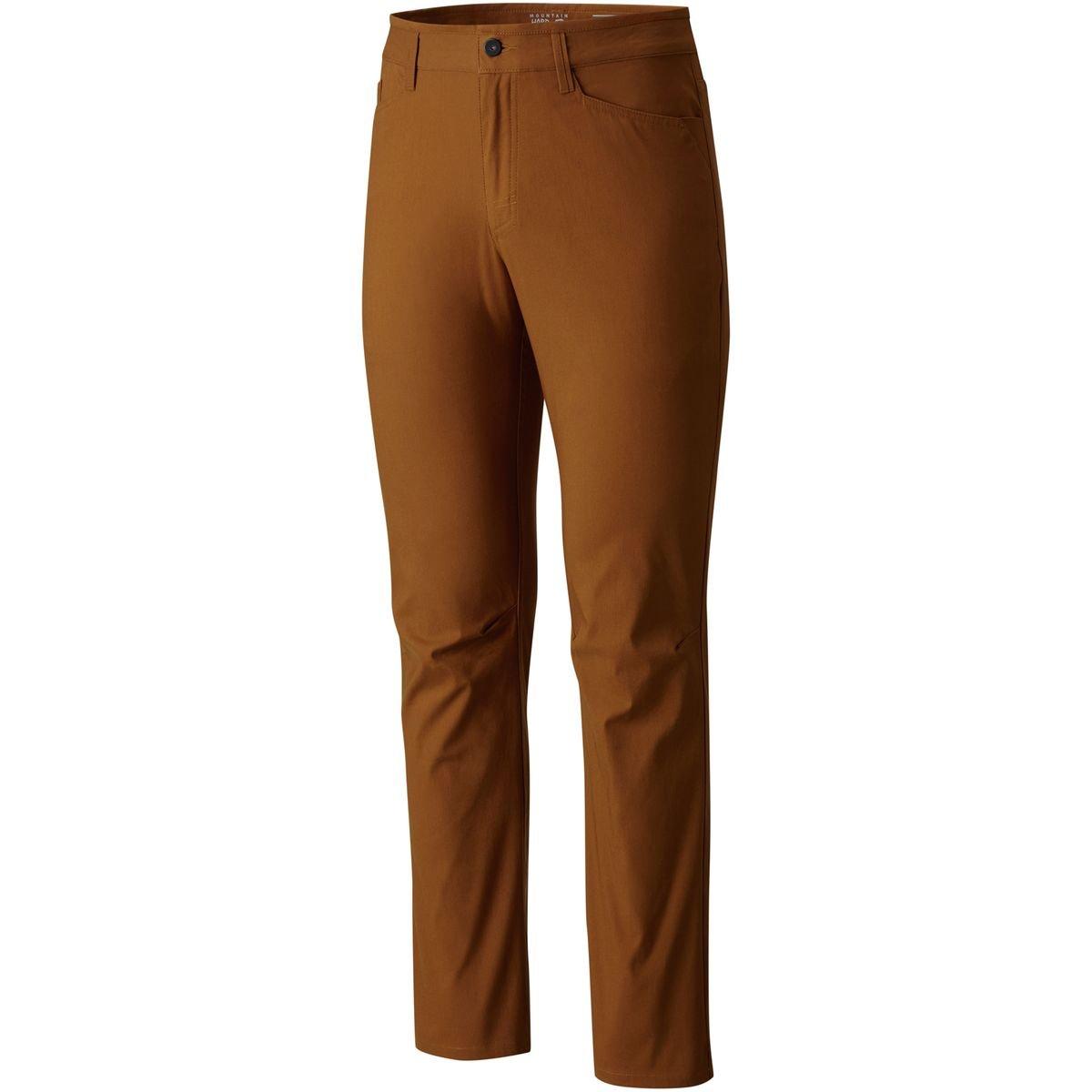 golden Brown 33x30 Mountain Hardwear AP 5 Pocket Pant  Men's