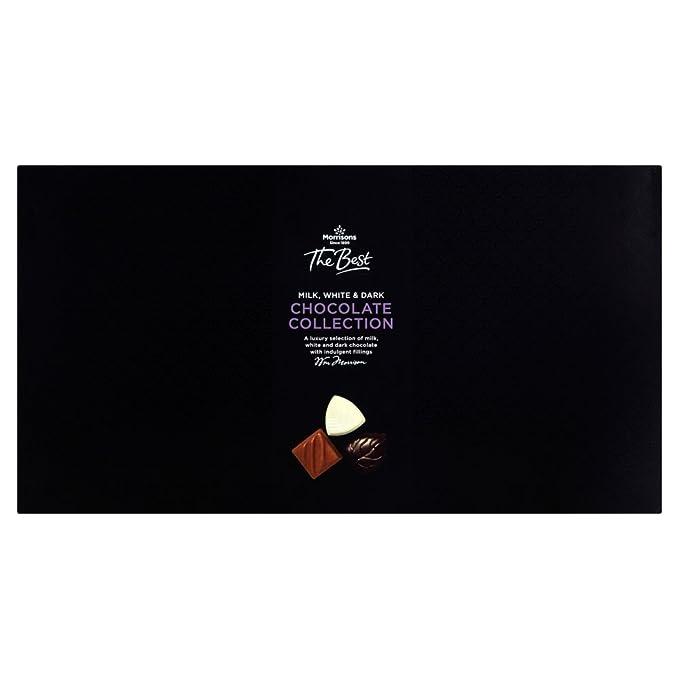 Morrisons The Best Milk White Dark Chocolate Assortment 240