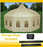 Cheap 20'x20′ Octagonal Wedding Gazebo Party Tent Canopy Shade – By DELTA Canopies