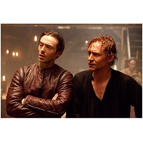 - The Hollow Crown 8inch x 10inch Photo Soggy Tom Hiddleston w/David Dawson Brown Leather Jacket kn