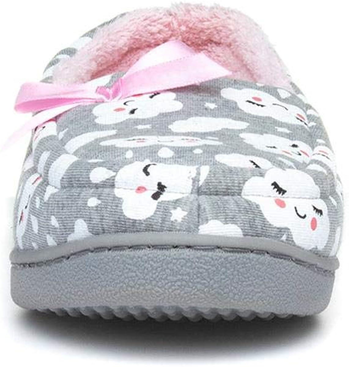 The Slipper Company Womens Moccasin Grey Slipper