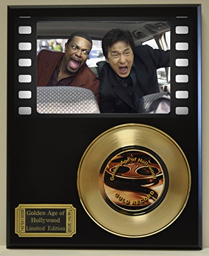 Rush Hour Limited Edition Gold 45 Record Display. Only 500 made. Limited quanities. FREE US SHIPPING