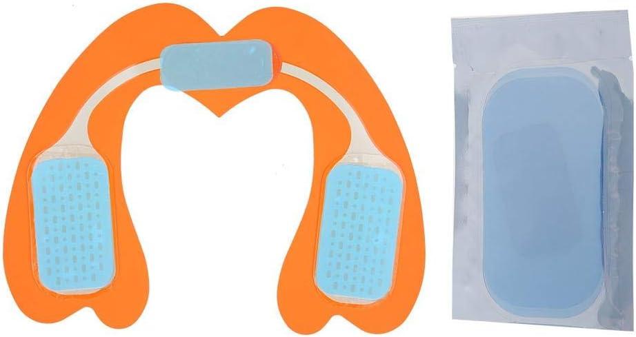 m/áquina de masajeador inteligente EMS Hip Trainer 01# negro + naranja Masaje de elevaci/ón de gl/úteos