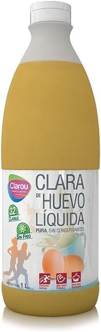 Clarou - Clara Líquida de Huevo, 1000 ml