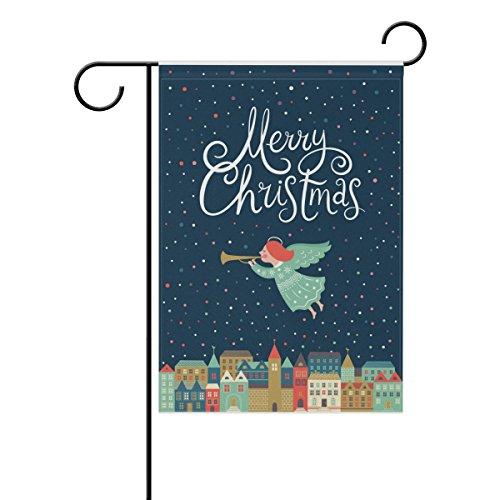 Top Carpenter Merry Christmas Decorative Garden Flag 28'' x 40''