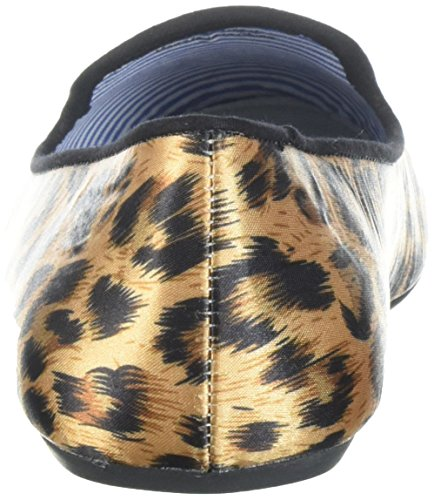 ... Charles Philip Shanghai Womens Sheila Røyke Tøffel, Satin Leopard, 6,5 M  Oss ...