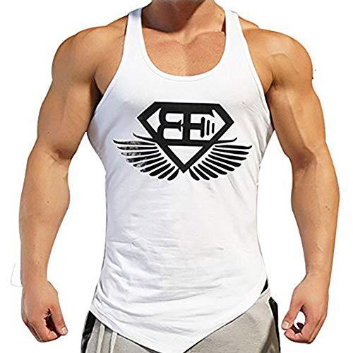 EVERWORTH Men Muscle Fitness Gym Stringer Tank Tops