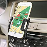 Car Mount Holder, iVoler Car Mount Holder with 360 Rotation and Release Button for iPhone 7/ 7Plus/ 6/ 6s/ 6Plus/ SE/ 5S/ 5C/8/8 Plus/x/10, Samsung Galaxy S7/ S7 Edge/ S6/ S6 Edge/ S5/ j5/ A5/ A3/ J7 2016 /S8 plus/ S8,LG LG, Huawei P9 Lite/ P8 Lite/ Honor 5c, Nexus 6P/ 5X, Google Pixel/ Pixel XL, LG G5/ V20, Nokia, Sony Xperia, Moto, HTC, Xiaomi, iPod, BQ Aquaris X5 Plus and more.