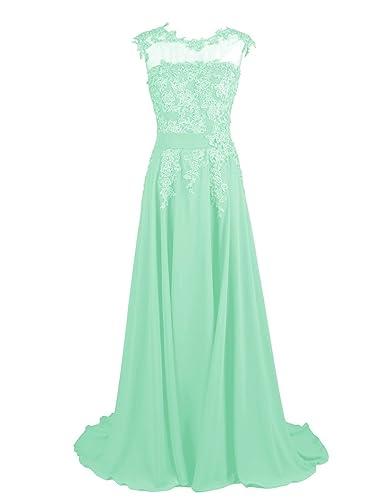 Dresstells Long Bridesmaid Dress Applique Prom Dress Evening Party Gowns