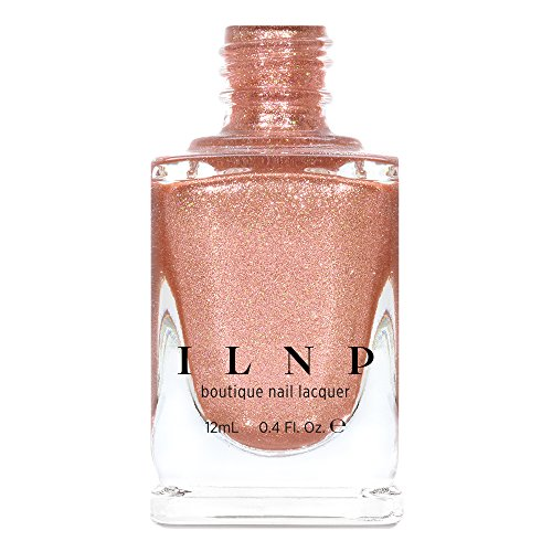 - ILNP Chelsea - Pale Rose Gold Holographic Metallic Nail Polish