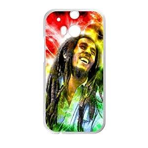 HTC Uno M8cell Phone case White Bob Marley klia