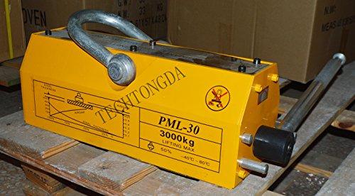 3000 KG Steel Magnetic Lifter Heavy Duty Crane Hoist Lifting Magnet 6614lb by Lifter-1 (Image #3)