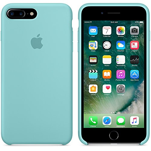 Apple Silicone Back Cover Case for iPhone 7 Plus - Sea  Amazon.co.uk   Electronics 4d21337f8