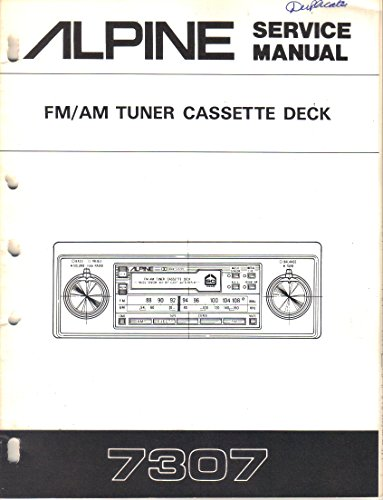 ner Cassette Deck Car Stereo, Service Manual, Parts List, Schematic Wiring Diagram ()