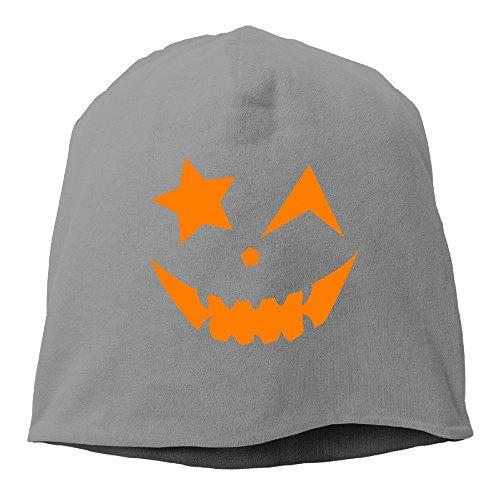 CUTEDWARF Pumpkin Expression Hat Winter Fall Classic Men Womens Knit Caps Beanie