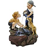 Alpine GXT829 Boy Washing Girls Hands Fountain with LED Lights