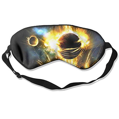 (100% Silk Sleep Mask Eye Mask Phoenix Bird Soft Eyeshade Blindfold with Adjustable Strap for Men Women and Kids for Sleeping Travel Work Naps Blocks Light)