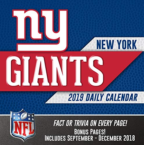 Turner Licensing New York Giants 2019 Box Calendar (19998051447)
