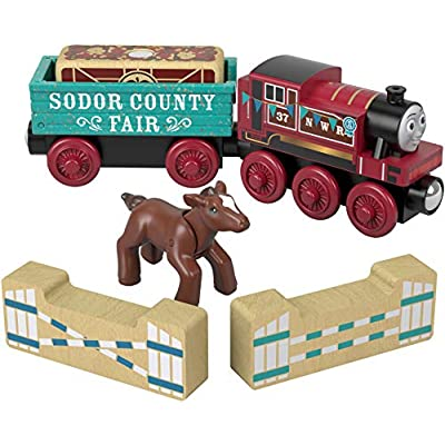 Thomas & Friends Fisher-Price Wood, Rosie's Prize Pony: Toys & Games