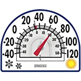 SPRINGFIELD 91157 Four Season Window Cling Thermometer SPRINGFIELD 91157 Four Se