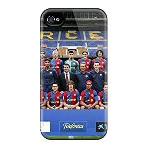 Shockproof Hard Cell-phone Cases For Iphone 6 (mCk11092ksQh) Provide Private Custom Beautiful Fc Barcelona Image