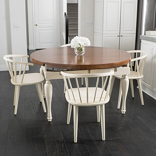 Best Selling Home 5 Piece Square Table Dining Set