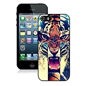 Tiger Roar Cross Hipster Quote Design for Iphone 5 5s Case Black Cover