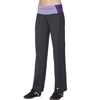 ac1b21ace81 Champion PowerTrain Absolute Workout Women s Pants  Black Purple  Mist Electric Purple