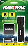 Rayovac Sportsman 18 Lumen 3AAA 6-LED Blood Tracking Flashlight with Batteries (SPBT3AAA-B)
