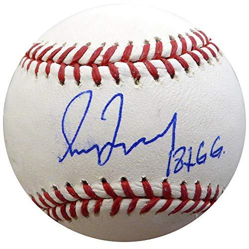 Greg Maddux Autographed Baseball - Greg Maddux Autographed MLB Baseball Braves, Cubs