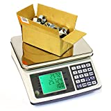 66 LB x 0.002 LB MCT-66 Plus Medium Counting Scale With Keypad, 7.5'' x 10'' Platter Size