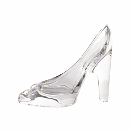 cf4c44c50d7 Skyeye 1Pcs Fashion Cinderella Crystal Shoes High-heeled Pendant Gifts  Transparent Glass Slipper Princess Ornaments Toy Gift for Women Girls  Bridal ...