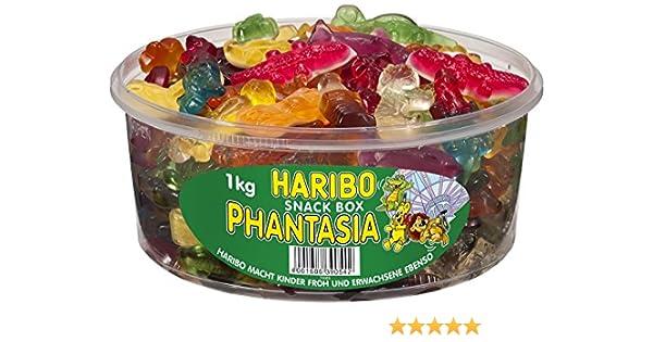 Haribo Phantasia, 2er paquete (2 x caja de 1kg): Amazon.es ...