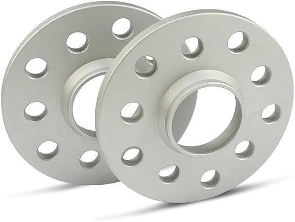 Scc Spurverbreiterung 12112e Silber Eloxiert Lk 100 4 108 4 Nlb 57 1 10mm 2 Stück Auto