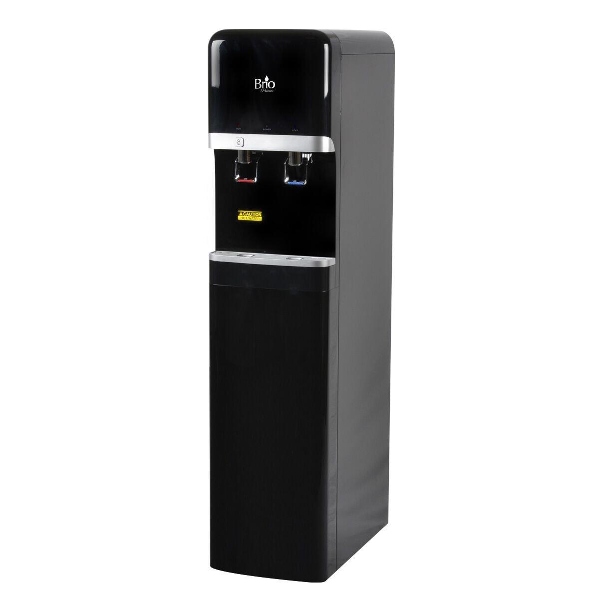Bottleless Water Dispenser, Brio CLB3000U-3Stage-EZ with 3 Stage EZ Change Filtration Package and Installation Kit (3 Stage EZ Change, BLACK)