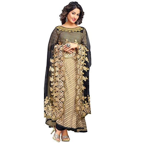 Bollywood Wedding Embroidered Ready made Salwar Kameez Indian – 0X, Beige