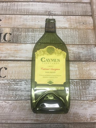 Sauvignon Napa Valley - Caymus 2015 Napa Valley 1 Liter - Cabernet Sauvignon Melted Wine Bottle Cheese Serving Tray - Wine Gifts