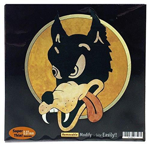 Inlay Sticker Decal For Guitar Grateful Dead Jerry Garcias   Wolf