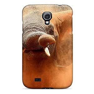 Excellent Design Angry Elephant Phone Case For Galaxy S4 Premium Tpu Case by lolosakes