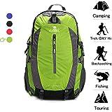 CAMEL CROWN 50L Waterproof Hiking Backpack...