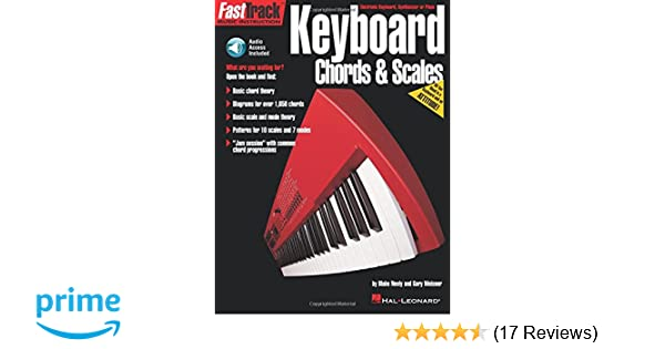 Keyboard Chords Scales Book Fasttrack Series Hal Leonard Corp