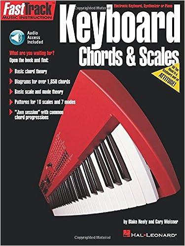 Keyboard Chords Scales Book Fasttrack Series Hal Leonard Corp