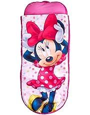 ReadyBed Disney Minnie Mouse Junior Kids dmuchane i śpiwór w jednym, poliester, różowy, 150 x 62 x 20 cm
